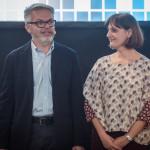 Luca Sofri ed Erika D'Arcangelo