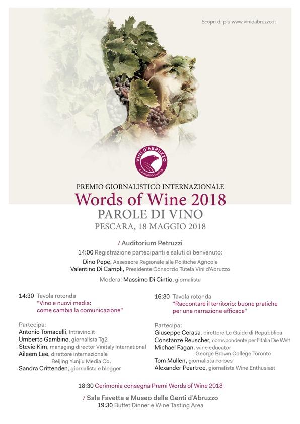 Words of wine