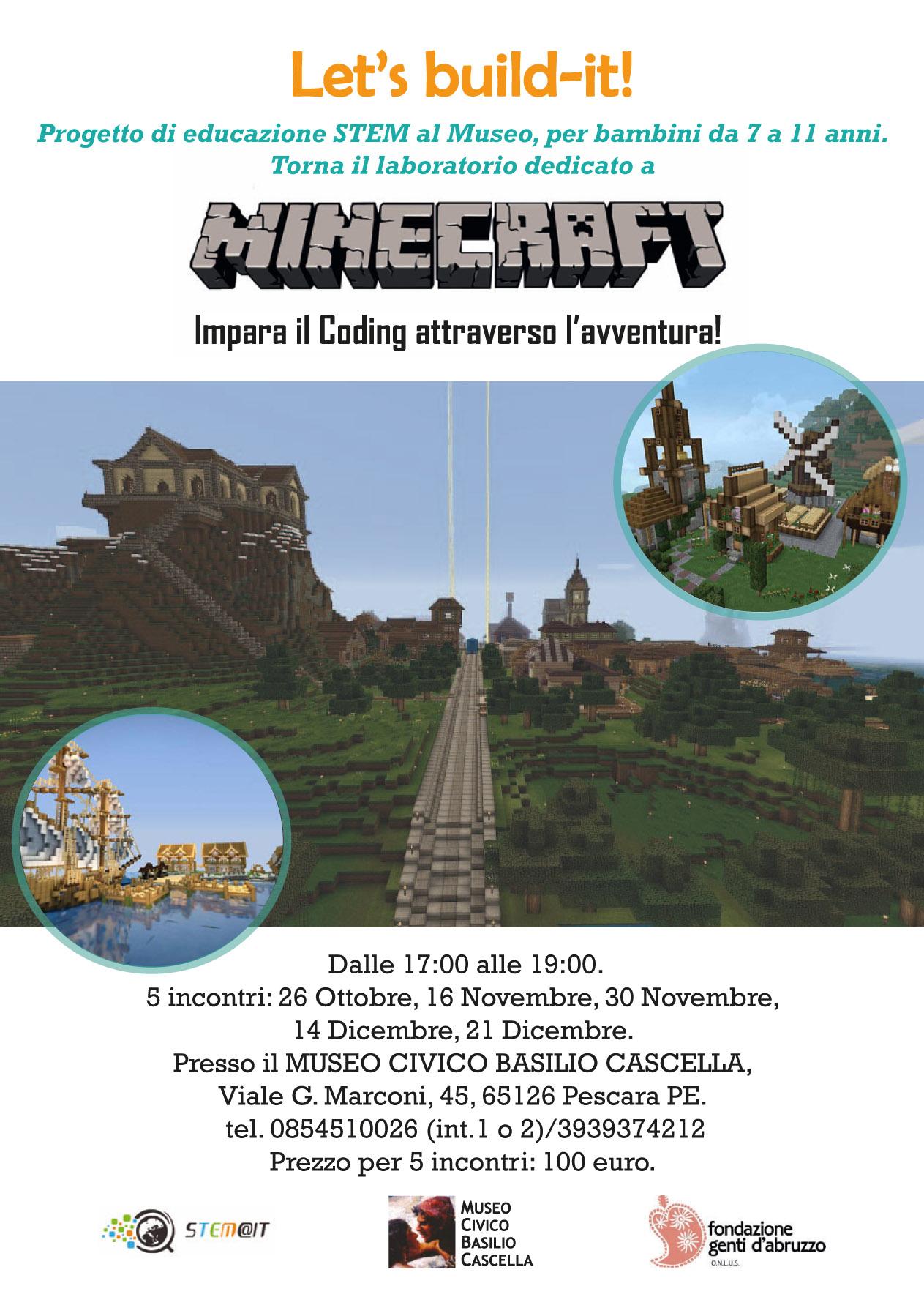 STEM Minecraft Workshop Museo 2019