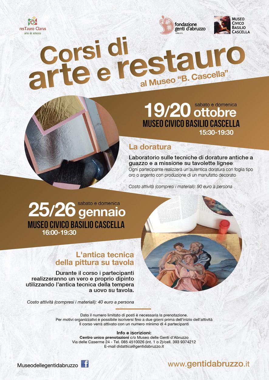 Corso di arte e restauro per adulti