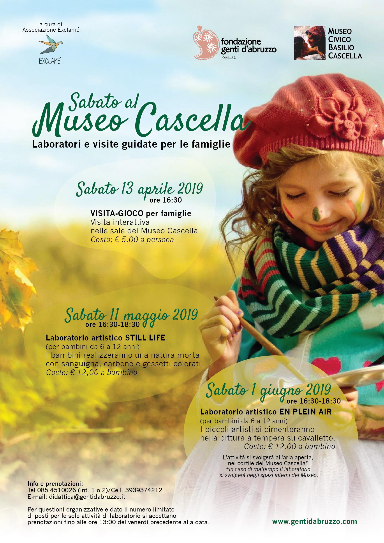 Sabati tematici al Museo Cascella