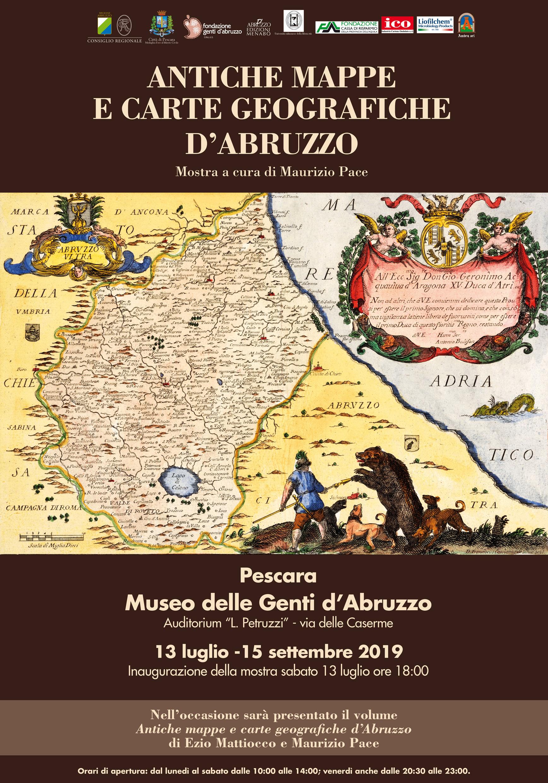 ANTICHE MAPPE E CARTE GEOGRAFICHE D'ABRUZZO
