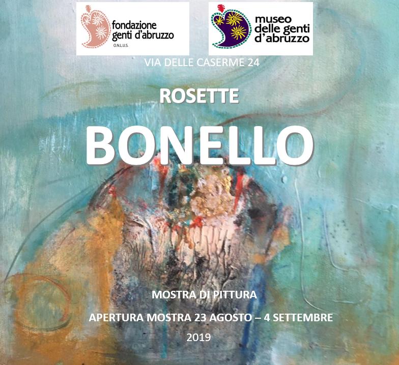 mostra Rosette Bonello