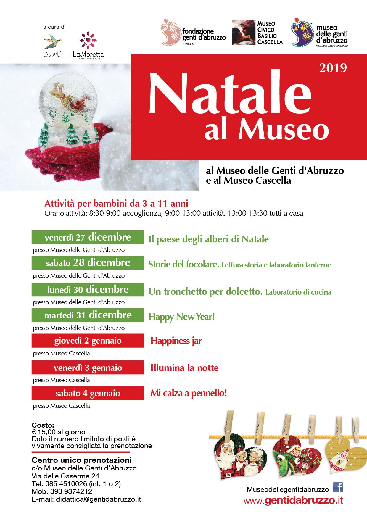 Natale al Museo