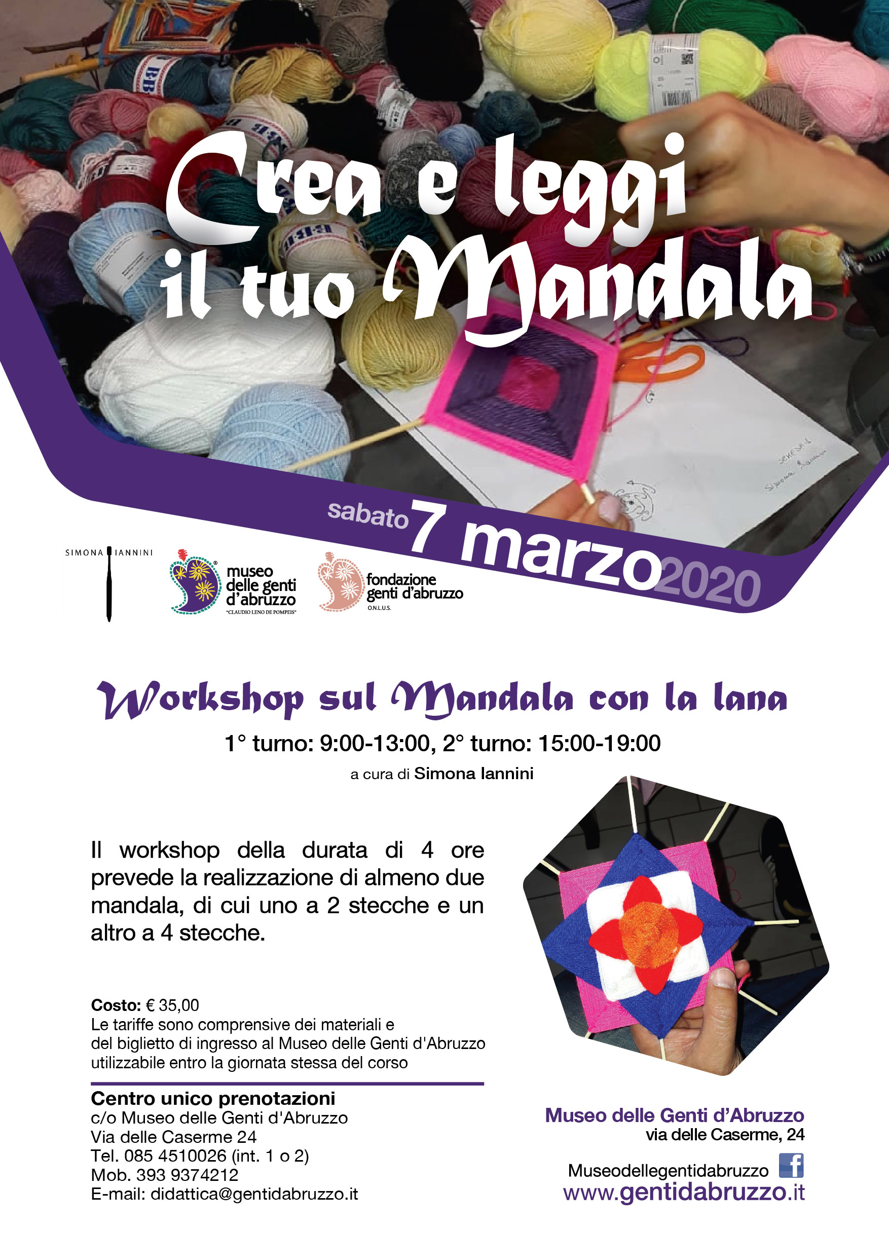 workshop MANDALA