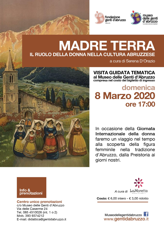 MADRE TERRA - Visita Guidata 8marzo